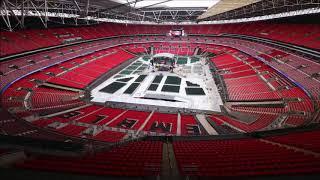 Joshua vs povetkin wembley stadium time-lapse