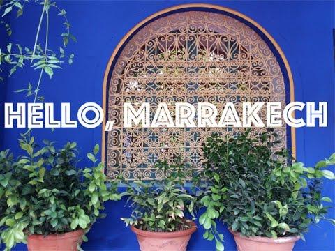 Hello, Marrakech