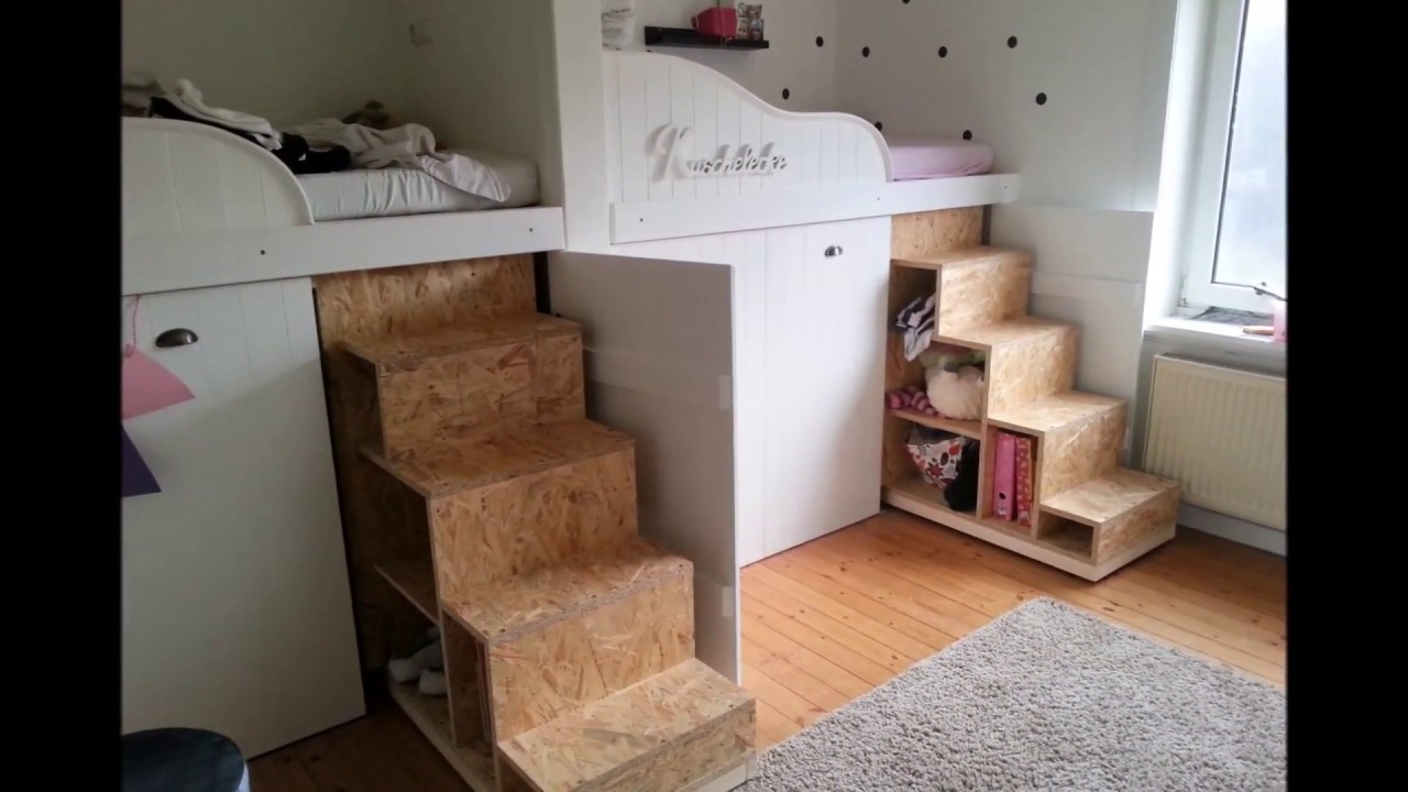 bauvideo hochbett bau kinderzimmer renovierung trofast regal youtube. Black Bedroom Furniture Sets. Home Design Ideas