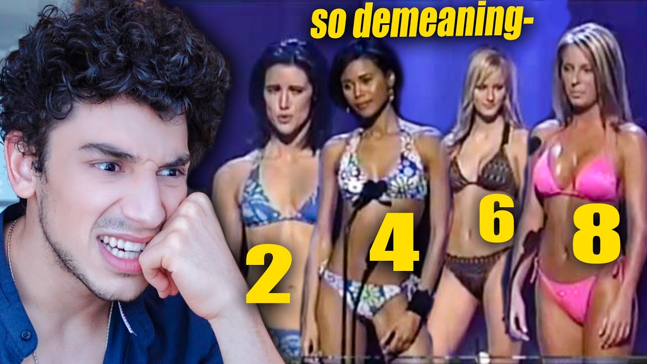 Male Model Judges Rating Girls by Looks- so demeaning 🙄