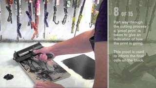The Making of a Woodcut Print - Leicester Arts & Museums Service
