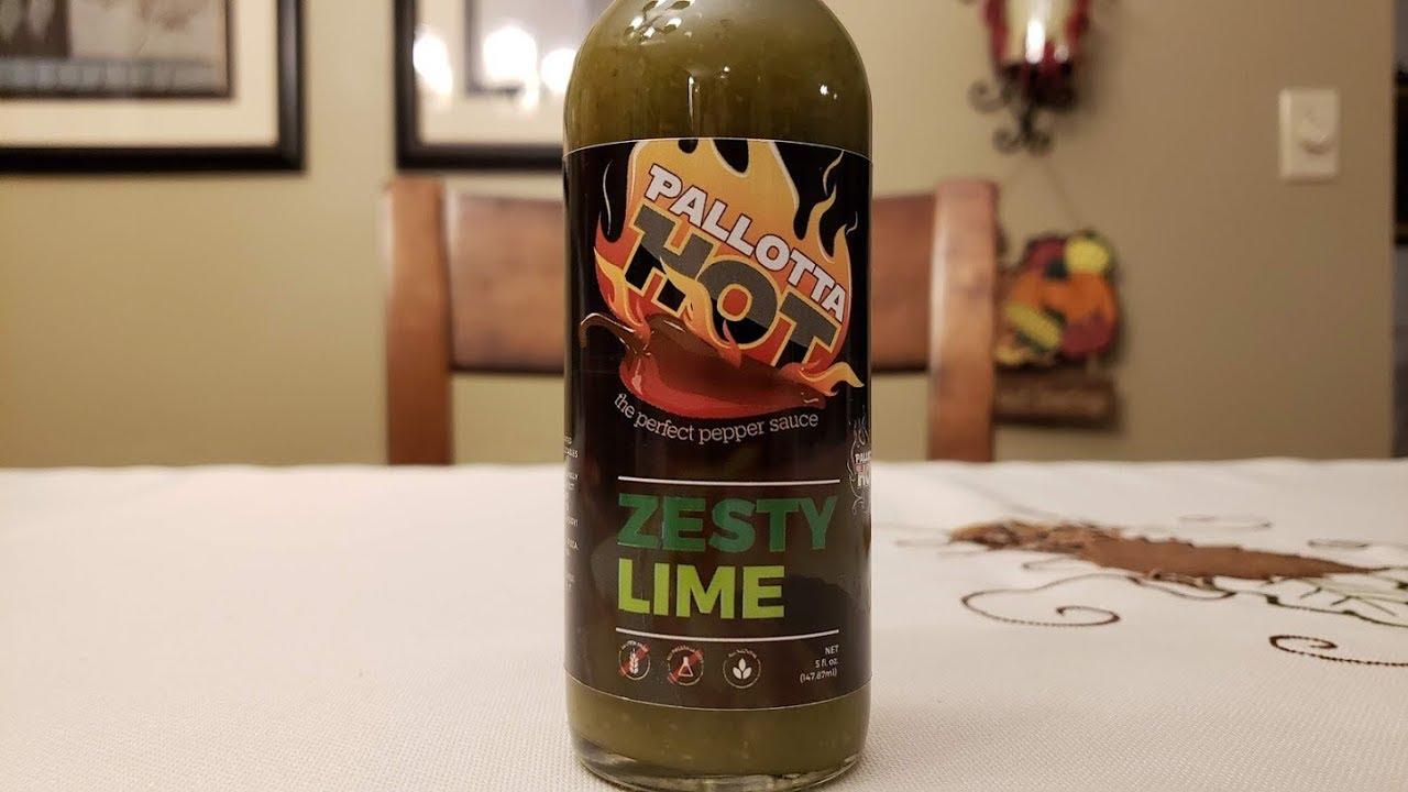 pallotta hot zesty lime pepper sauce review youtube rh youtube com