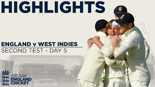 Day 5 Highlights | Stokes Fires England To Stunning Late Victory | England v West Indies 2nd Test