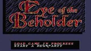 Advanced Dungeons & Dragons: Eye of the Beholder *SNES*