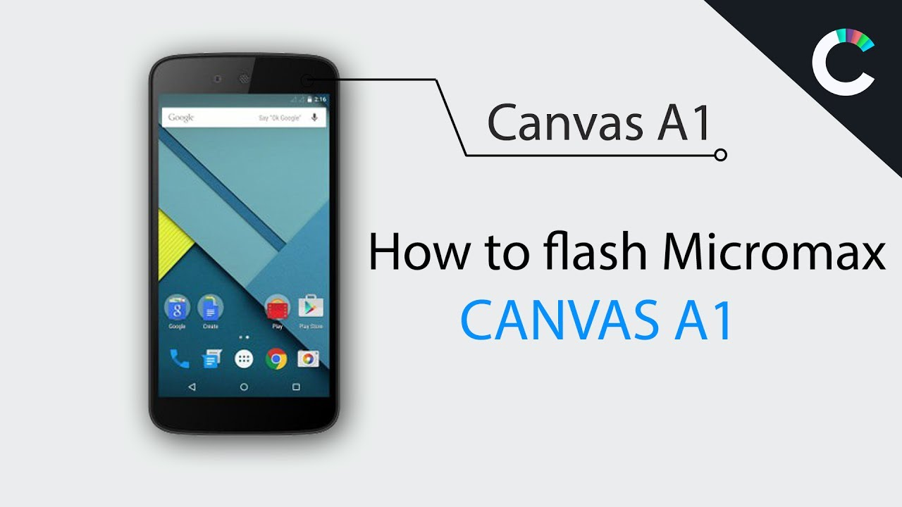 Micromax Canvas A1 Dead Solution | Flash with Sptool | Flashing Canvas A1