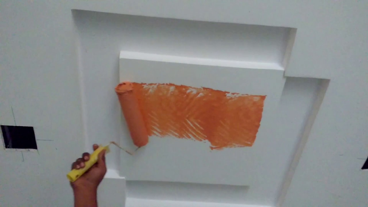 Wall painting ideas POP designs ceiling - YouTube