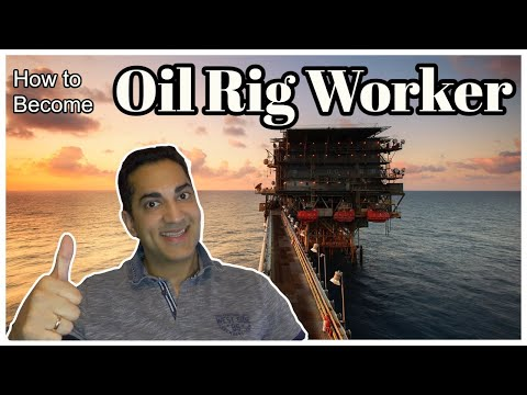 How to Become an Oil Rig Worker | Offshore Jobs for Petroleum Workers | Desi lifestyle in Europe