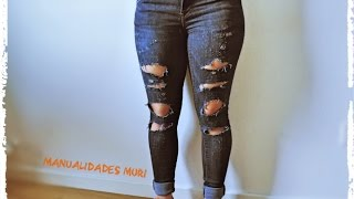 Manualidades, Como Romper o Rasgar tus Jeans