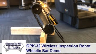 GPK-32 Upgrades: Wheelie Bar + Roll Cage by SuperDroid Robots