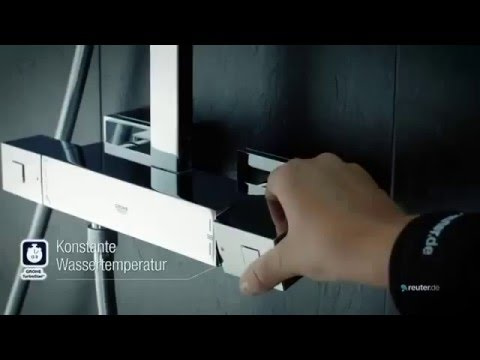 grohe euphoria cube xxl system 230 youtube. Black Bedroom Furniture Sets. Home Design Ideas