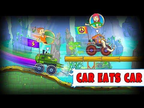 Каким будет режим Игры в Машина Ест Машину 4 - битва Локомотива и Мамонта в новой игре Car Eats Car