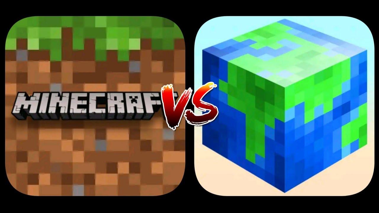 Minecraft PE VS Craft Pixel Art 2021- Build and Creative
