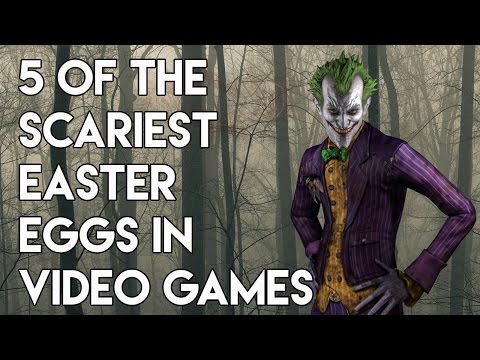 5 Of The Scariest Easter Eggs In Video...