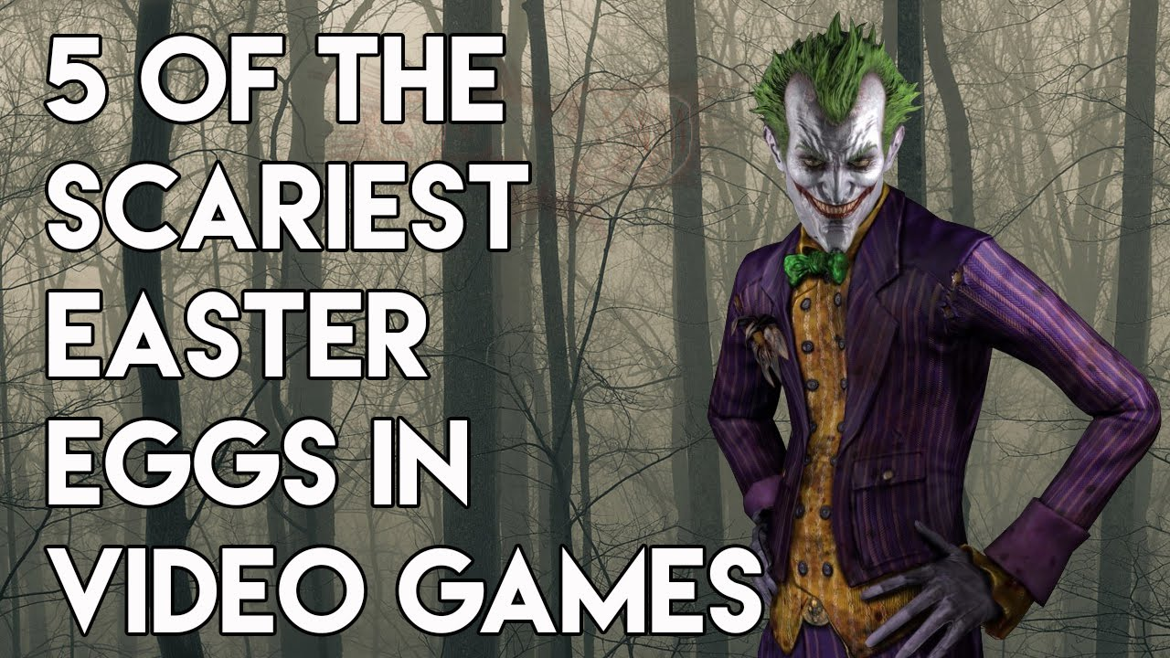 The Scariest Easter Eggs In Video Games - YouTube