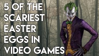 5 Of The Scariest Easter Eggs In Video Games