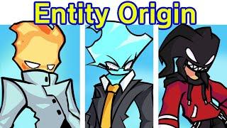 Friday Night Funkin' VS Entity Origins BREAKOUT Full Week Cutscenes (FNF Mod) Agoti Solazar Prequel
