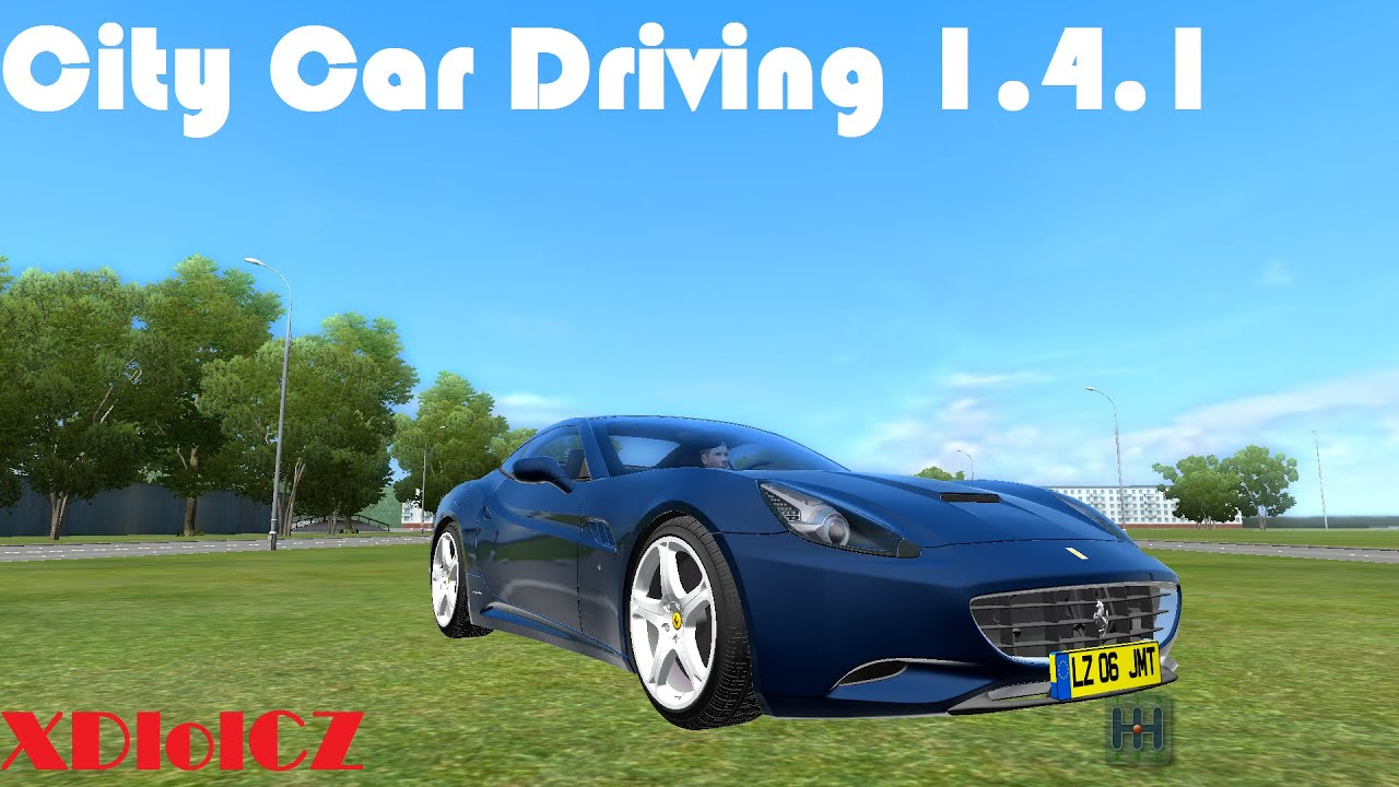 City Car Driving 1.4.1 Ferrari California + Download link ...