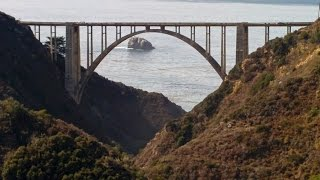 Bixby Bridge, Monterey/Big Sur - from Old Coast Road - Street Triple R