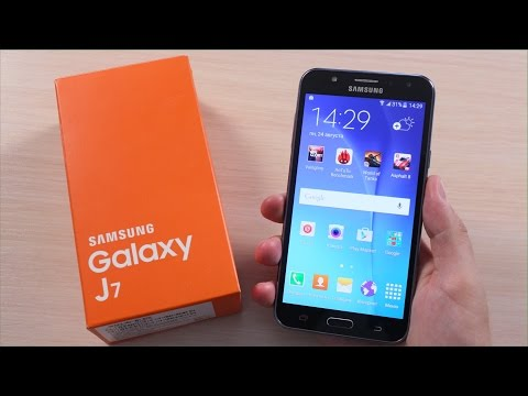 Samsung Galaxy J7 ОБЗОР  (J700H)