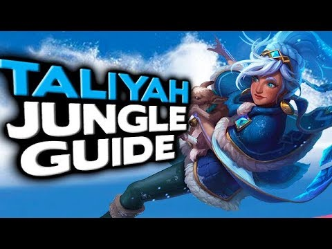 How to Play The Most OP Jungler in League of Legends - Taliyah Jungle Guide