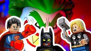 Сборник Лего мультиков про Супергероев. ...