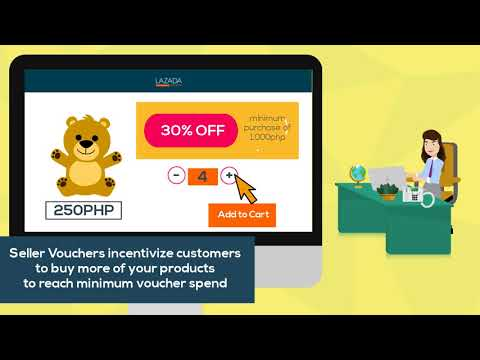 LAZADA Introduction To Seller Vouchers And Its Key Benefits