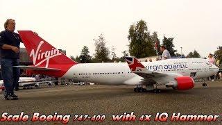 Video RC Boeing 747-41R Virgin Atlantic Close Up Departure Hausen Airport download MP3, 3GP, MP4, WEBM, AVI, FLV Agustus 2018