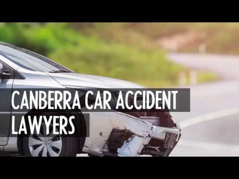 Canberra car motor vehicle accident lawyers