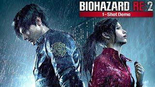 悲劇が起こった警察署への潜入 - バイオハザード RE:2 1-Shot Demo 実況プレイ