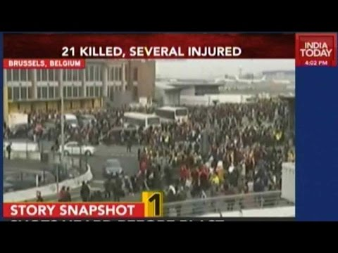 21 Killed, Several Injured In Brussels Attack