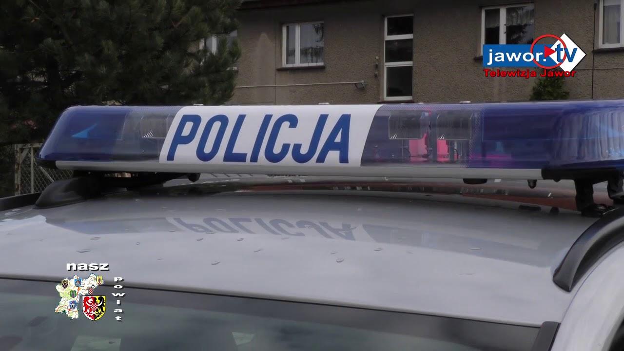 NOWY RADIOWÓZ DLA KOMENDY POWIATOWEJ POLICJI W JAWORZE