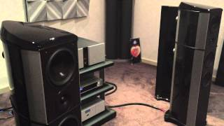 wilson benesch act one evolution speakers vitus audio digibit aria at absolute hi end