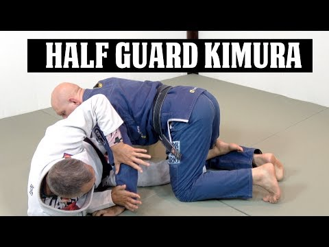 A Sneaky Kimura Attack from Half Guard