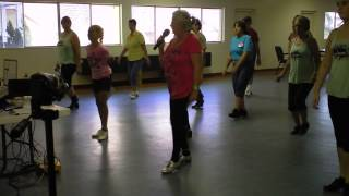 """Clogging - Valerie Fitzgerald - Pretty Little Girl With the Blue Dress On"""" - Cloggers Clinic"""