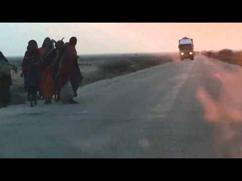 Traveling by Car in Qardho - the Puntland States of Somalia