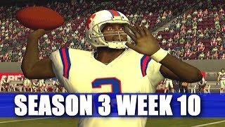 GREAT PERFORMANCE IN A CLASSIC -ESPN NFL 2K5 BILLS FRANCHISE S3W10