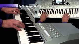 Du Schwarzer Zigeuner - Keyboard Spelen Met Plezier deel 5
