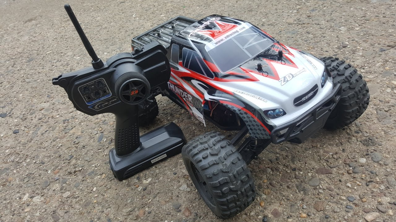 ZD Racing ZMT-10 Thunder Demo - YouTube