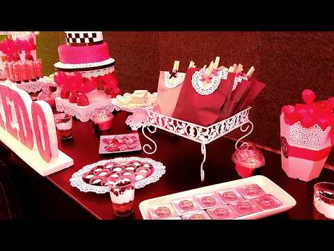 7 ideas para decorar una mesa de dulces para fiesta infantil - Cars
