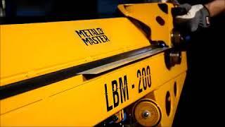 Обзор Станок листогибочный METALMASTER LBM-200