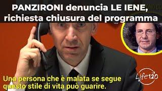 PANZIRONI denuncia LE IENE, chiesta la CHIUSURA del PROGRAMMA