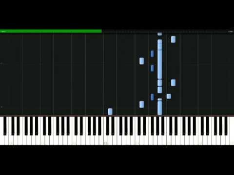 Jewel - Angel standing by [Piano Tutorial] Synthesia | passkeypiano