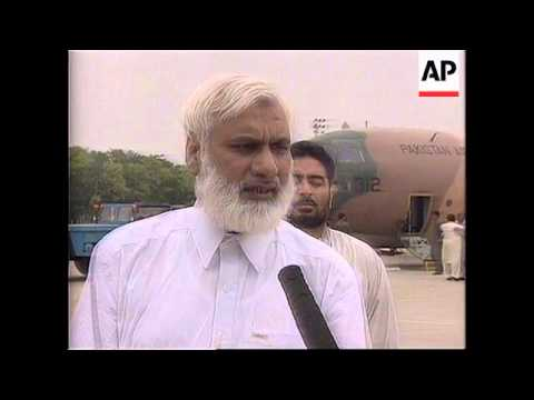 Pakistan - Scientists given hero's welcome