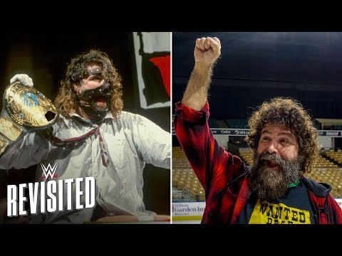 Mick Foley returns to WWE Title win site 20 years later: WWE Revisited