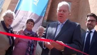 Former BBC Newsreader Peter Sissons Opens Millbrook Village