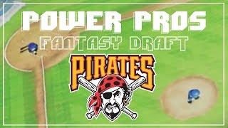 MLB Power Pros 2008 - Pittsburgh Pirates Fantasy Draft