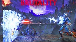 Mortal Kombat X: NEW Cyber Sub Zero & Bo Rai Cho Secret Brutality Mortal Kombat XL Secret brutality