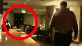 Il proprietario di un ristorante in Argentina, riprende un reale fenomeno poltergeist