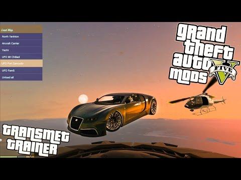 GTA 5 PC: TransmetTeam Trainer / Mod (Grand Theft Auto V)