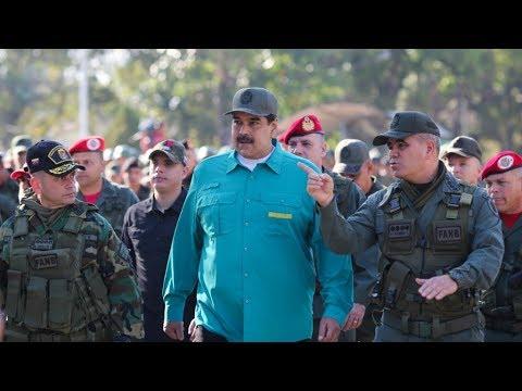《石涛聚焦》「委内瑞拉变天」局势突变:杜瓦罗指责川普策划政变 拒绝英法德西8天期限 赴基地军演 另报军队已经分裂 鲍尔博直接发出威胁警告